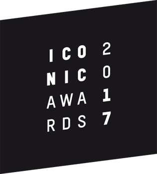 Logo ICONIC AWARDS 2017